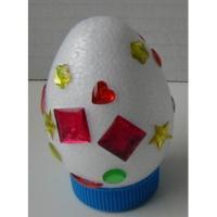 Oeuf de Pâques décoré - illustration