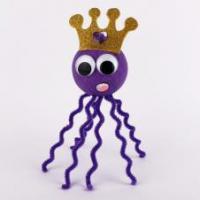 activité de bricolage enfants pour bricoler une pieuvre