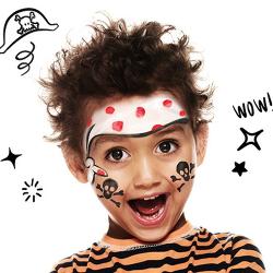 Des idées de maquillages pour le caranval à faire à vos enfants