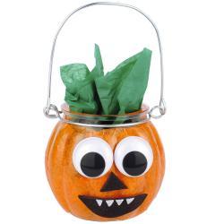 Tuto pour réaliser une citrouille d'Halloween avec les enfants