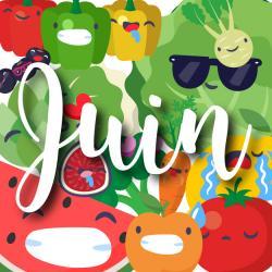 Consommer des fruits et légumes de saison c'est bon pour l'environnement mais aussi pour vous ! Abricot, Cassis, Artichaut, poivron et autre Radis : retrouvez notre jolie liste des fruits et légumes de juin. Vous pourrez même l'imprimer et la coller sur l