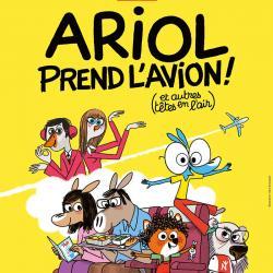 Ariol prend l'avion est un film d'animation franco-russe De Amandine Fredon, Yulia Aronova et bien d'autres. Retrouvez la bande annonce et des infos sur ce dessin animé avec Tête à modeler.