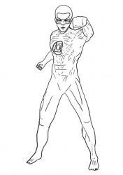 Coloriage de Green Lantern #2