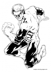 Coloriage de Green Lantern #3