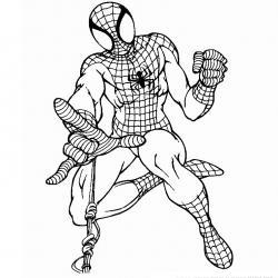 Coloriage de Spiderman #2