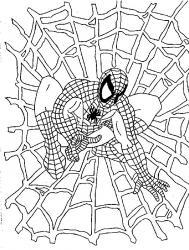 Coloriage de Spiderman #3