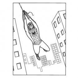 Coloriage de Spiderman #5