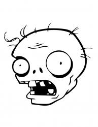 Coloriage zombie #02