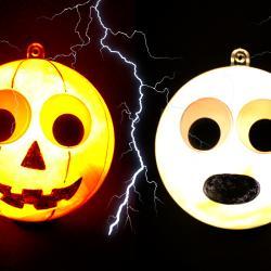 Aujourd'hui nous allons vous montrer une astuce simple qui vous permettra de réaliser des décorations lumineuses originales pour Halloween avec des boules en plastique ! Une activité facile et amusante à faire avec les enfants.
