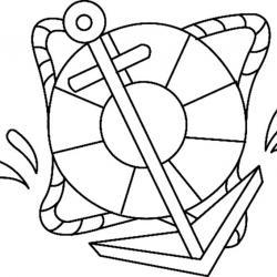 Ancre 01 - motif à imprimer