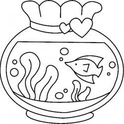 Aquarium 01 - motif à imprimer