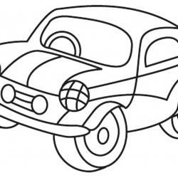 Auto 03 - motif à imprimer
