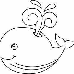 Baleine 01 - motif à imprimer