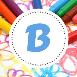 Coloriage prénom commençant par B