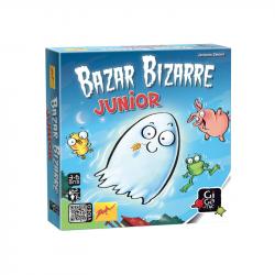 Bazar Bizarre junior est un jeu de société pour enfants qui allie sens de l'observation et rapidité.