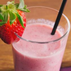 Milk shake fruits