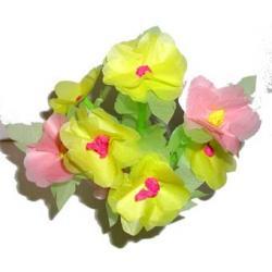 Réaliser des anémones en papier de soie pour décorer la maison ou pour offrir à l'occasion de la fête des mères, la fête des pères, Noël, pour un anniversaire .