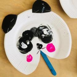 Bricolages enfant avec des assiettes