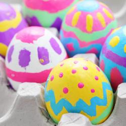 Bricolages oeufs de Pâques