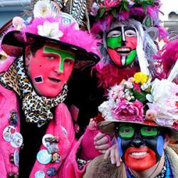 Masque grosse tête du Carnaval de Dunkerque