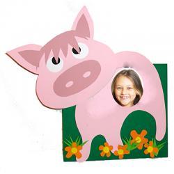 Fabriquer un cadre photo grand cochon