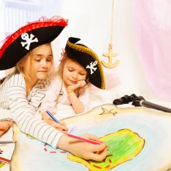 chasse aux trésor à  organiser pour les enfants