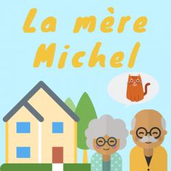 """Voici les paroles de la chanson """"La mère michel"""" qui raconte l'histoire d'une grand mère qui a perdu son chat et du père Lustucru. Retrouvez les paroles complètes de la comptine ainsi que la musique en vidéo et la partition à imprimer."""