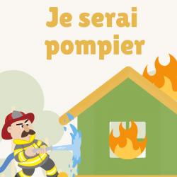 Beaucoup d'enfants aiment les pompiers, voici donc une chanson à lire et à chanter sur le pompier.