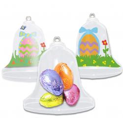 Cloche de Pâques à garnir et décorer