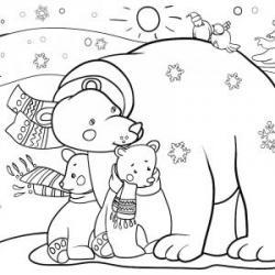 Dessins des animaux des pays froids à imprimer pour le coloriage. Des coloriages gratuits sur les animaux vivants dans les pays très froids comme le pôle nord et le pôle sud. Le coloriage des animaux, une activité ludique, rapide et peu salissante pe