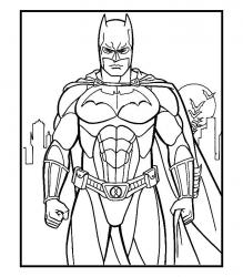 Coloriage Batman #2