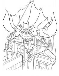 Coloriage Batman (super héro)