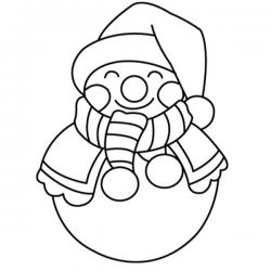 Tous les coloriage des Bonshommes de Neige à imprimer et à colorier. Le bonhomme de neige est une figure familière des paysages de Noël, voici donc de nombreux coloriages de Noël à imprimer pour s'amuser à colorier le bonhomme de Noël ou bonhomme