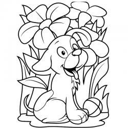 Voici un coloriage loup à imprimer gratuitement. Un dessin de loup à imprimer pour tous les petits amoureux des animaux. Page 3