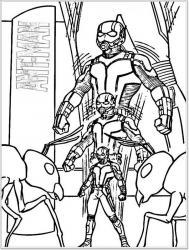 Coloriage de Ant-Man