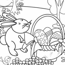 Vous cherchez un coloriage de Pâques ? Retrouvez des centaines de dessins à imprimer gratuitement avec des œufs, des cloches, des lapins, des poules ou encore des poussins de Pâques. Des coloriages adaptés à tous les âges mais toujours gratuits et imprima