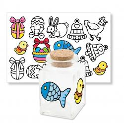 Coloriage de stickers de Pâques
