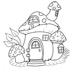 Voici un coloriage d'un champignon à imprimer gratuitement. Un joli dessin à colorier sur le thème de l'automne et de la nature. Modèle 03