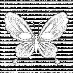 Imprimer le coloriage d'un masque de papillon 2. Imprimer un masque de papillon pour le carnaval