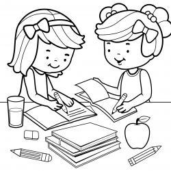 Des dessins à imprimer sur le thème de l'école et de la rentrée des classes. Retrouvez des coloriages portant sur les fournitures utilisées à l'école.