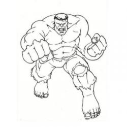 Coloriage Hulk : ce super héro fait partie des Avengers. Retrouvez tous nos dessins à imprimer sur l'incroyable Hulk.