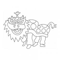 Coloriage à imprimer sur le nouvel an chinois : Le Nouvel An chinois est une occasion de fête pour les grands comme les petits. Un coloriage sur le Nouvel An Chinois est aussi le pretexte pour partir à la découverte de la Chine et de sa culture. Il suffit