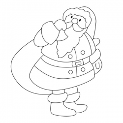 Vous cherchez un coloriage Père Noël, voici une collection de 85 dessins de Père de Noël à imprimer gratuitement. Imprimez les coloriages pour aider les enfants à attendre l'arrivée du Père Noël. le coloriage aide les enfants à se concentrer tout en dével
