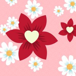 Coloriage saint Valentin, dessin saint Valentin