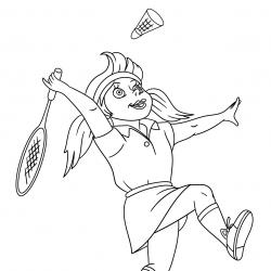 Coloriage sport : un dessin à imprimer avec des enfants sportifs. Un coloriage gratuit pour les petits amoureux du sport - Page 4