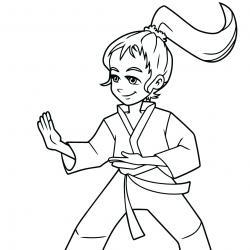 Coloriage sport : un dessin à imprimer avec des enfants sportifs. Un coloriage gratuit pour les petits amoureux du sport - Page 7