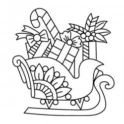 Les coloriages du traineau du Père Noël à imprimer et à colorier en attendant que le Père Noël se lance dans sa grande tournée avec son traineau magique chargé de cadeaux pour tous les enfants ! Des coloriages gratuits à imprimer sur le traineau du Père N