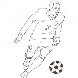 Coloriage Match De Football.Foot Coloriages Sur Le Foot