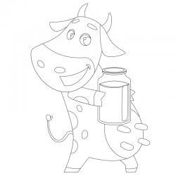 Coloriages sur les animaux vivant à la ferme : chevaux, vaches, moutons, chèvre, âne ...