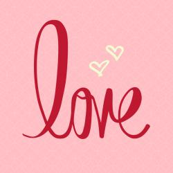 coloriages autour du mot love